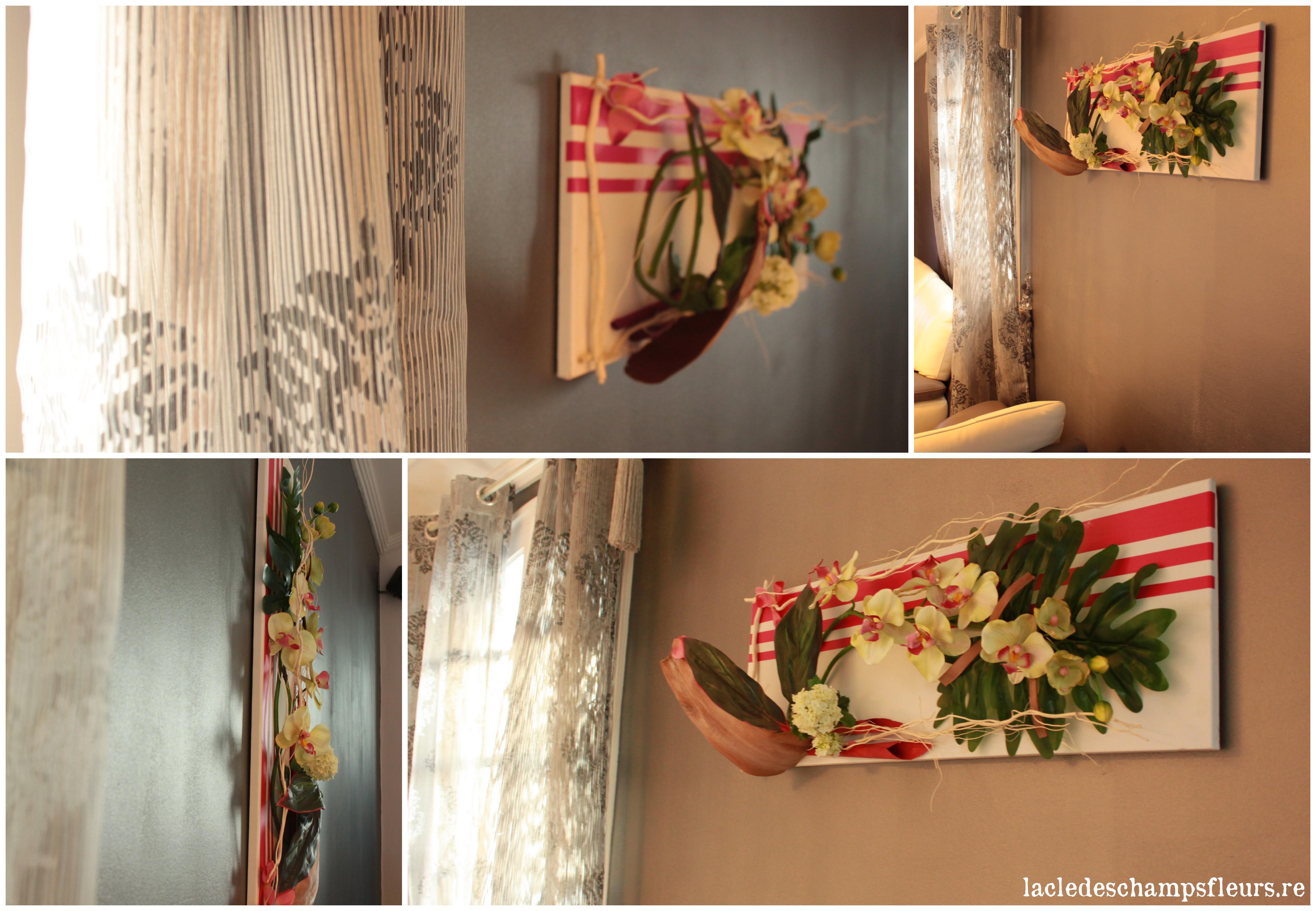 fleurissez vos murs avec le tableau floral la cl des. Black Bedroom Furniture Sets. Home Design Ideas